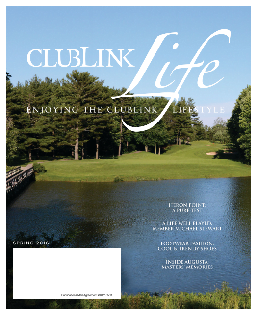 CLUBLINK Life – Golf Fundamentals for Business – Spring 2016