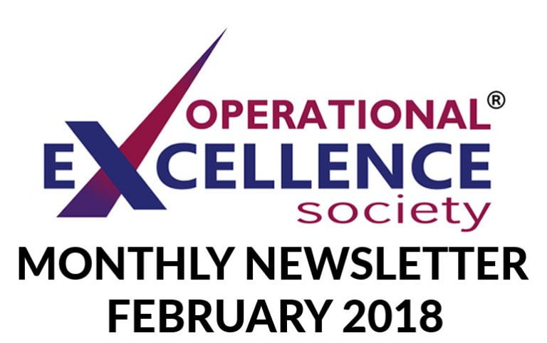 2018-February: Operational Excellence by Design eNewsletter