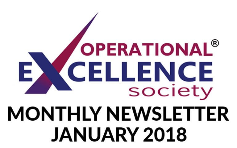 2018-January: Operational Excellence by Design eNewsletter