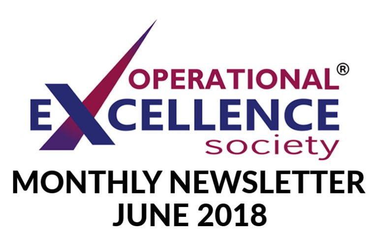 2018-June: Operational Excellence by Design eNewsletter