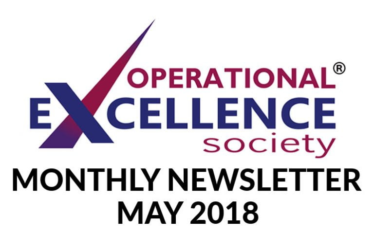 2018-May: Operational Excellence by Design eNewsletter