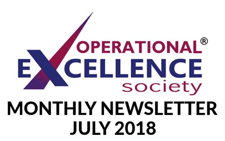 2018-July: Operational Excellence by Design eNewsletter