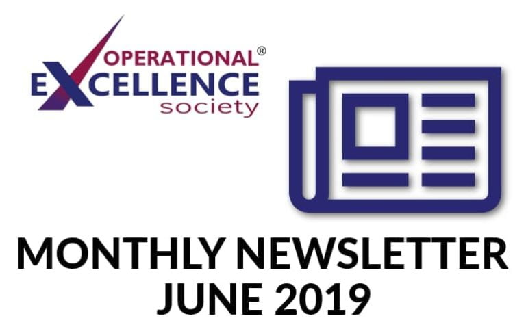 2019-June: Operational Excellence by Design eNewsletter
