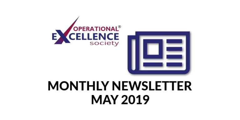 2019-May: Operational Excellence by Design eNewsletter