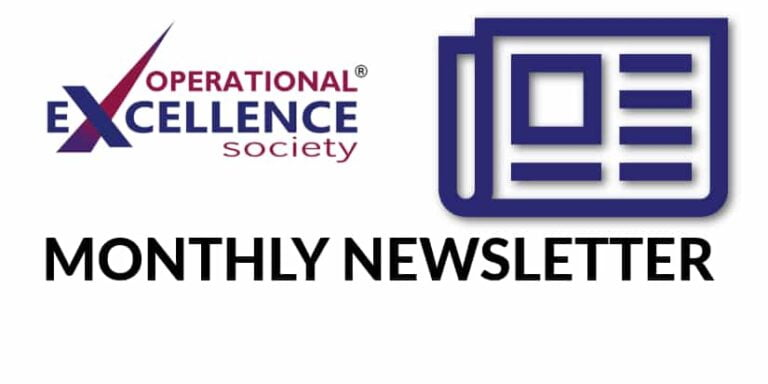 Operational Excellence by Design eNewsletter – September 2020